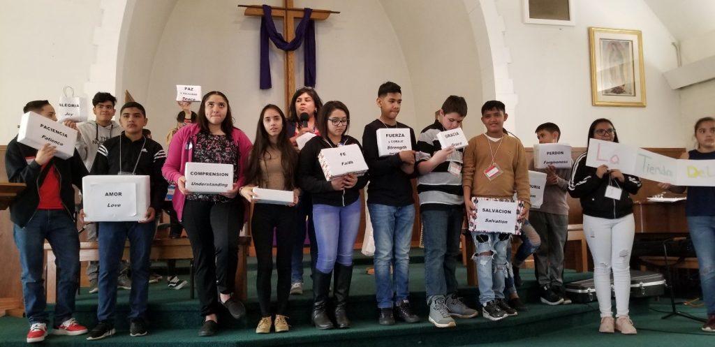 Margarita Reyes youth ministry leader