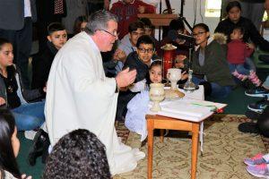 Quirino Cornejo communion service