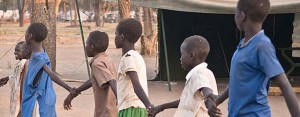 Children playing after school at the Yusuf Batil camp in Maban, South Sudan. Credit: LWF/Melany Markham