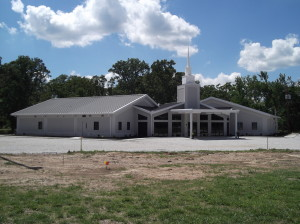 The newly completed building of Peace Lutheran Church, Joplih, MO