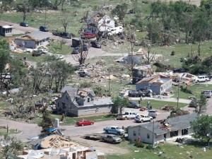 Tornado in Wessington Springs SD
