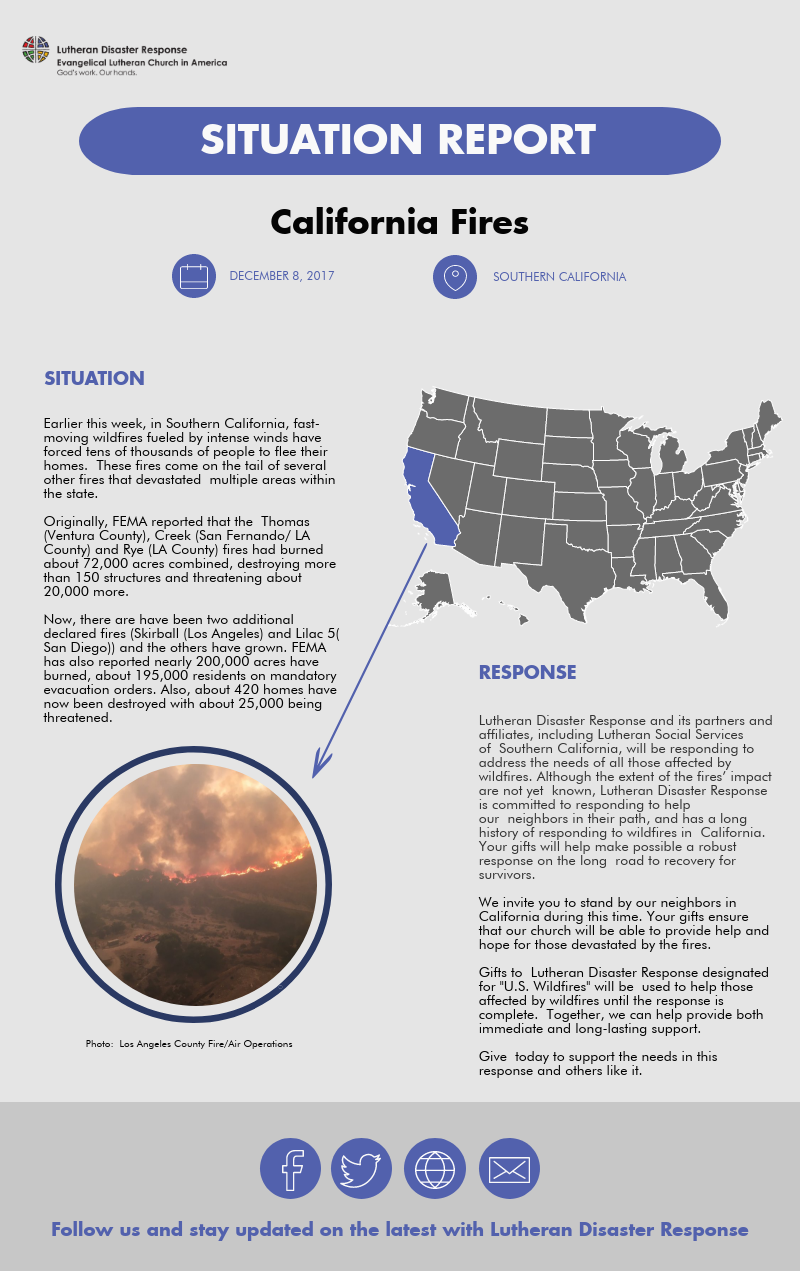California Fires Situation Report #2