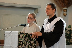 Preaching in Slovak and English