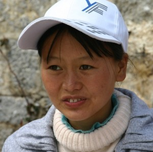 Li Zhi-hwa, student at the training center in Lijan, Yunnan, China