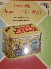 "The profits from ""Collectible Recipe Tins and Boxes"" will help support the work of Nancy Stevenson."