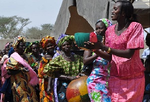 The Annual Harvest Festival of the Lutheran Church of Senegal is a time of celebration.