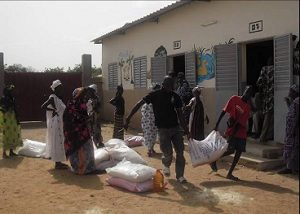 The ELCA is helping provide emergency feed and food to over 1,000 families in Senegal.