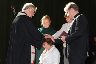 The installation of Tatyana Serebrova as head of women's ministries.