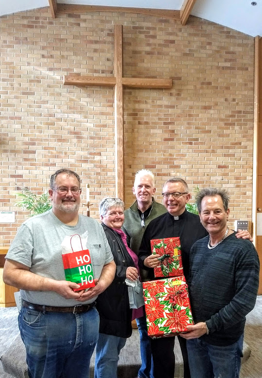 Christmas Gift group from St. Mark's in Minnkota