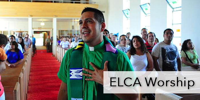 ELCA Worship Blog